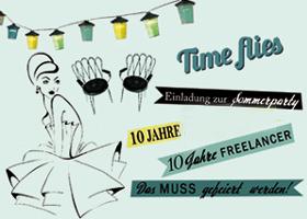 Firmenjubiläum: Wir feiern 10 Jahre Freelancertum