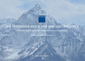 Holadio: Frischer Internetauftritt für BERG Personal