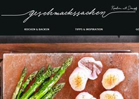 """Relaunch: AEG Kochblog """"Geschmacksachen"""""""