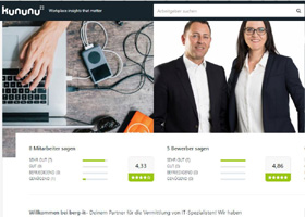 Xing-Profile + Neue Präsentationen für BERG Personalmanagement